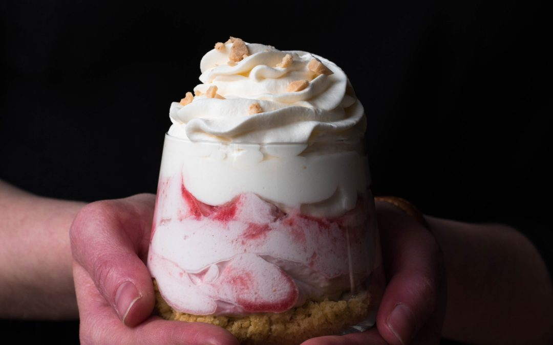 Two Valentines desserts